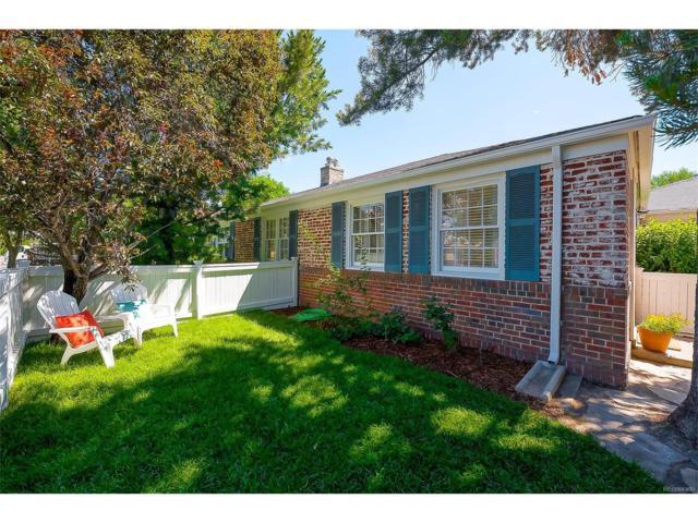 1272 Krameria Street, Denver, CO 80220 (MLS #1776287) :: 8z Real Estate