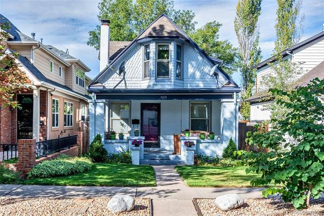 515 S Emerson Street, Denver, CO 80209 (#1777493) :: The Griffith Home Team