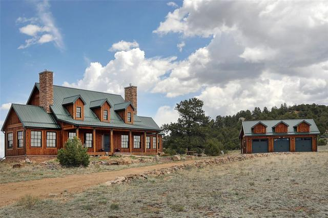 977 Dora Mountain Road, Westcliffe, CO 81252 (#1777686) :: 5281 Exclusive Homes Realty