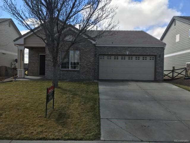 14944 E 116th Drive, Commerce City, CO 80603 (#1779016) :: The Peak Properties Group