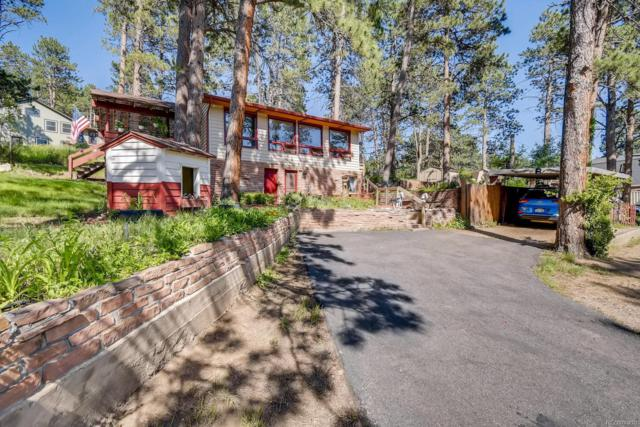 4570 Parmalee Gulch Road, Indian Hills, CO 80454 (#1780189) :: HomePopper