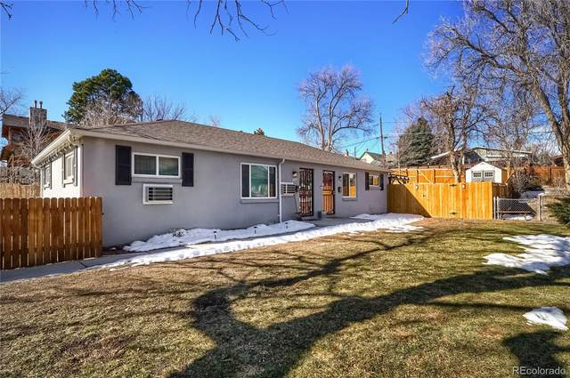 2545 S Pearl Street, Denver, CO 80210 (#1784364) :: The Dixon Group