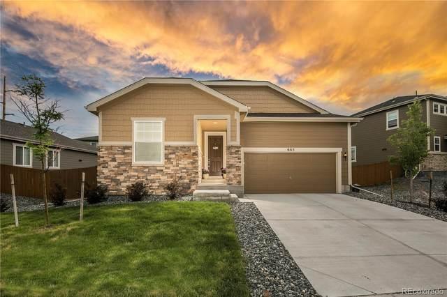 665 Blue Teal Drive, Castle Rock, CO 80104 (MLS #1786506) :: 8z Real Estate