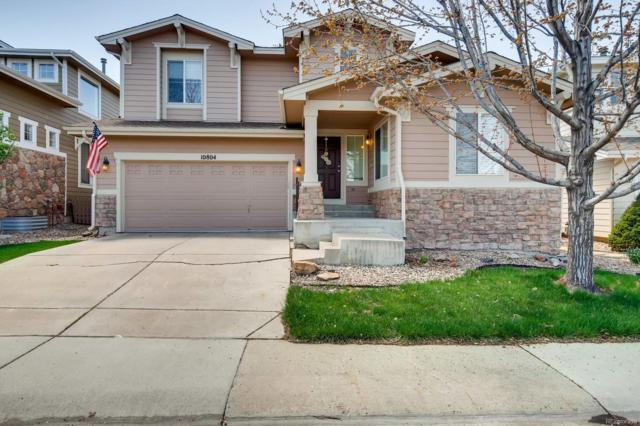 10804 Mountshire Circle, Highlands Ranch, CO 80126 (#1787522) :: The HomeSmiths Team - Keller Williams