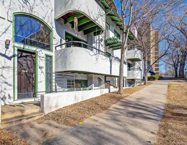 607 E 7th Avenue #106, Denver, CO 80203 (#1788558) :: The Heyl Group at Keller Williams