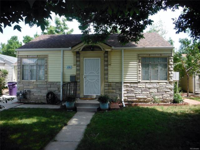 430 Newton Street, Denver, CO 80204 (#1789065) :: Structure CO Group
