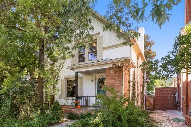 467 N Corona Street, Denver, CO 80218 (#1794242) :: Sultan Newman Group