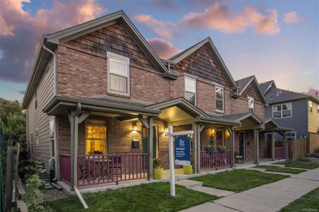720 W 1st Avenue, Denver, CO 80223 (MLS #1797990) :: Keller Williams Realty