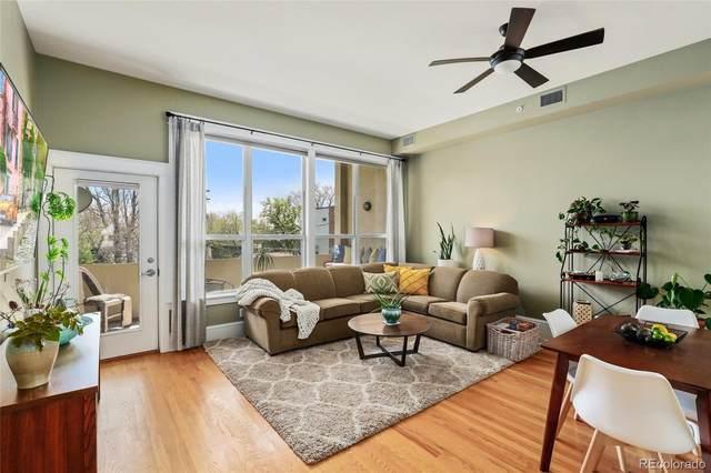 424 E 1st Avenue 2C, Denver, CO 80203 (#1798365) :: Portenga Properties