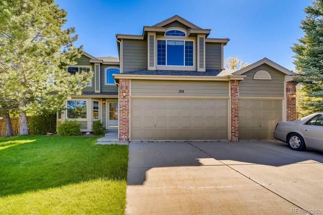 193 Heritage Avenue, Castle Rock, CO 80104 (MLS #1798661) :: Find Colorado