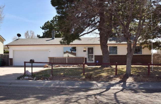 15750 E Linvale Place, Aurora, CO 80013 (#1798877) :: The Peak Properties Group