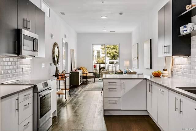 2550 Lawrence Street #203, Denver, CO 80205 (#1798910) :: Bring Home Denver with Keller Williams Downtown Realty LLC