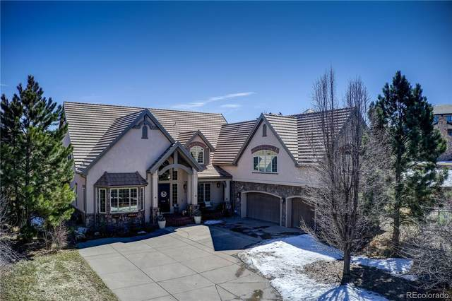 5788 Amber Ridge Place, Castle Pines, CO 80108 (#1803191) :: The HomeSmiths Team - Keller Williams