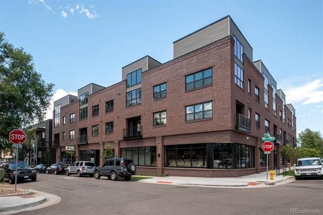 431 E Bayaud Avenue #214, Denver, CO 80209 (#1803611) :: The Gilbert Group