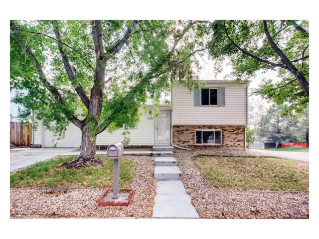 4196 S Pagosa Court, Aurora, CO 80013 (MLS #1803620) :: 8z Real Estate