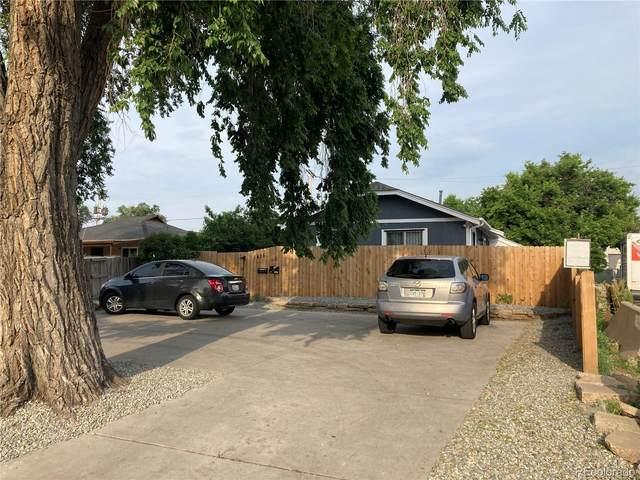 1435-1437 Uinta Street, Denver, CO 80220 (#1805720) :: Stephanie Fryncko | Keller Williams Integrity