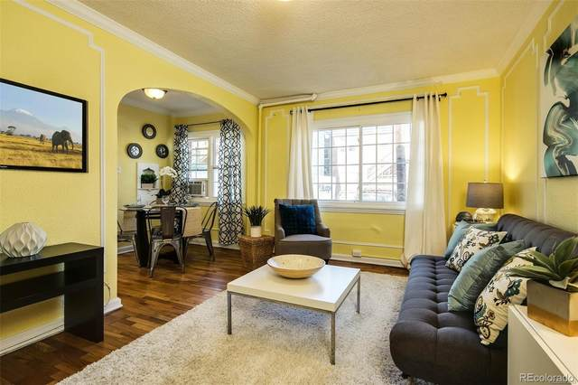 1365 N Corona Street #6, Denver, CO 80218 (#1810406) :: Briggs American Properties