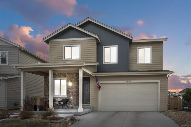 4099 Trail Stone Circle, Castle Rock, CO 80108 (#1814941) :: The Griffith Home Team