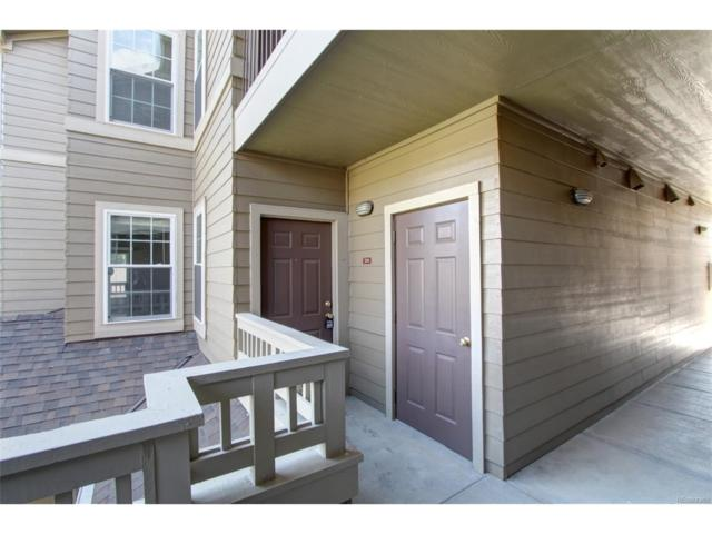 12886 Ironstone Way #201, Parker, CO 80134 (MLS #1815645) :: 8z Real Estate