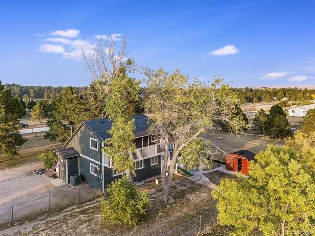 5354 Pinon Drive, Elizabeth, CO 80107 (MLS #1816010) :: The Sam Biller Home Team