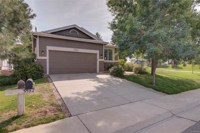 5982 S Zeno Court, Aurora, CO 80016 (#1821639) :: The Galo Garrido Group