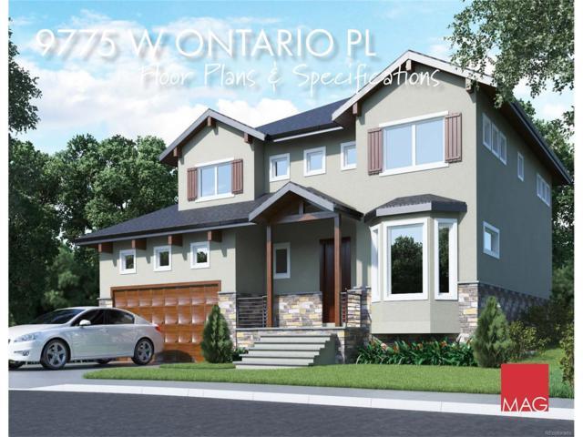 9775 W Ontario Place, Littleton, CO 80128 (MLS #1821658) :: 8z Real Estate