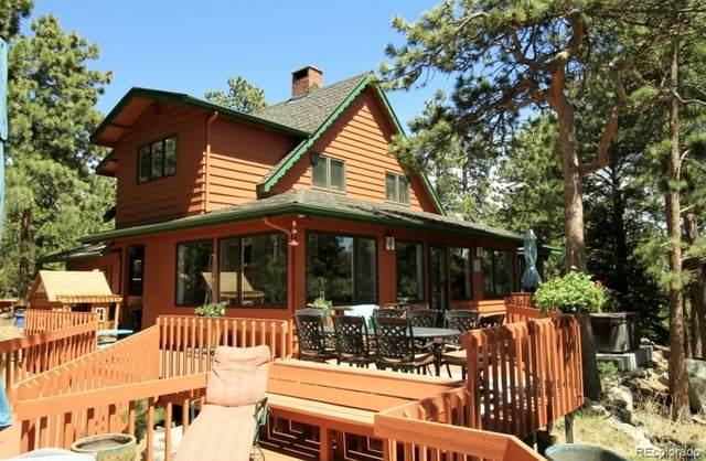 12925 State Highway 7, Allenspark, CO 80510 (MLS #1821972) :: 8z Real Estate