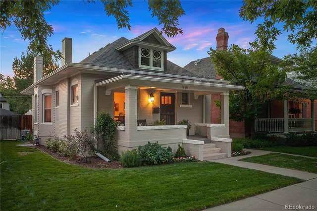 919 S Emerson Street, Denver, CO 80209 (#1823417) :: Mile High Luxury Real Estate