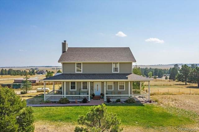 27262 E Broadview Drive, Kiowa, CO 80117 (#1823880) :: iHomes Colorado