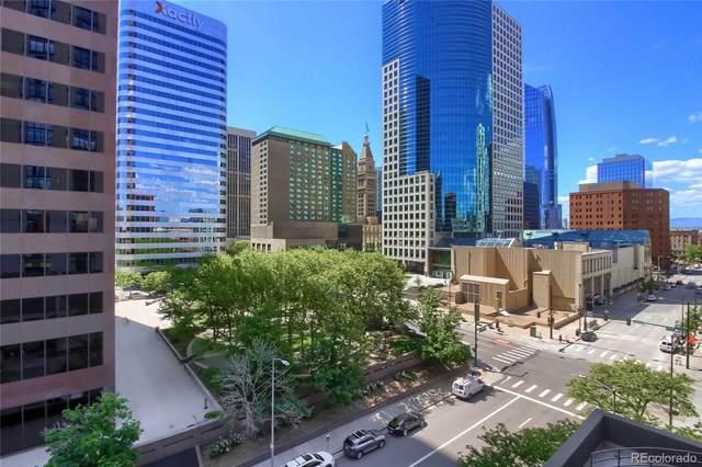 1777 Larimer Street #711, Denver, CO 80202 (#1825426) :: Bring Home Denver with Keller Williams Downtown Realty LLC