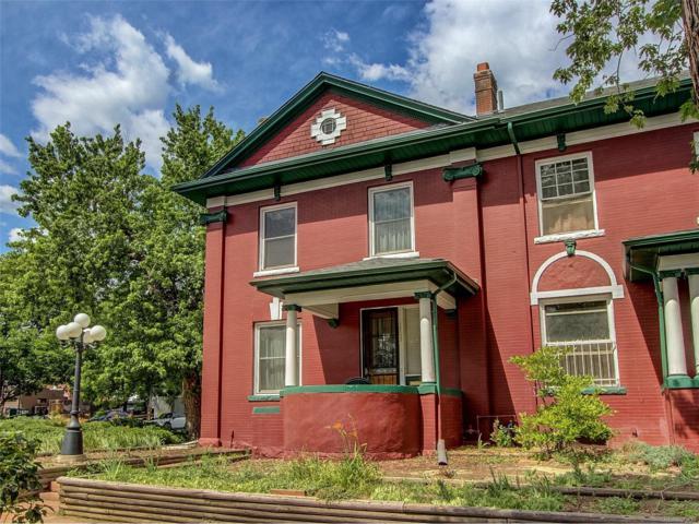 1703 Vine Street, Denver, CO 80206 (#1828935) :: Wisdom Real Estate