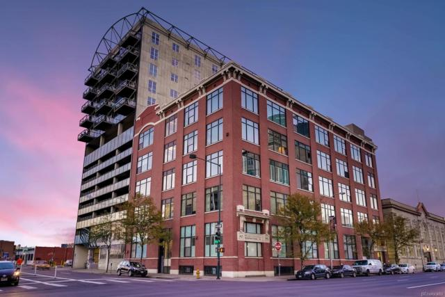2000 Arapahoe Street #301, Denver, CO 80205 (#1830723) :: The Griffith Home Team