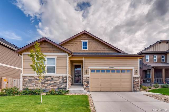 16320 E 100th Avenue, Commerce City, CO 80022 (#1835070) :: The DeGrood Team