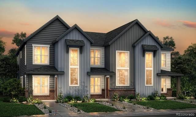 9269 Garnett Street D, Arvada, CO 80007 (#1835982) :: The Griffith Home Team