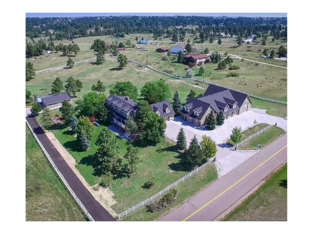 8459 Homestead Road, Parker, CO 80138 (#1836997) :: The Griffith Home Team