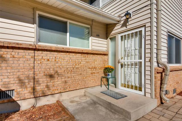 3351 S Field Street #159, Lakewood, CO 80227 (#1837633) :: The City and Mountains Group
