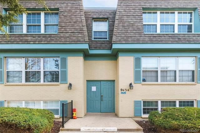 9434 E Girard Avenue #11, Denver, CO 80231 (#1839731) :: Finch & Gable Real Estate Co.