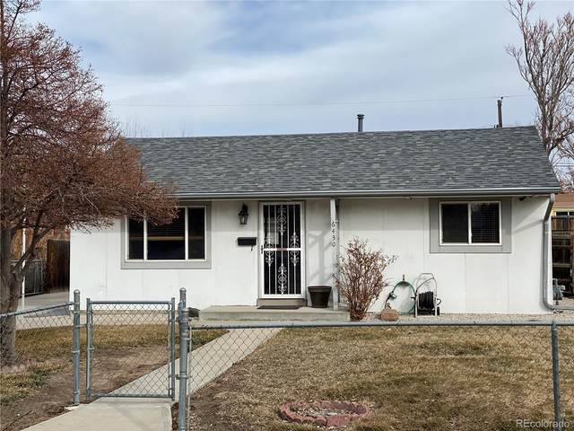 6430 Grape Street, Commerce City, CO 80022 (#1846716) :: The Brokerage Group
