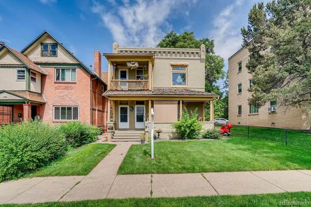 2130 N Franklin Street, Denver, CO 80205 (#1852119) :: Chateaux Realty Group