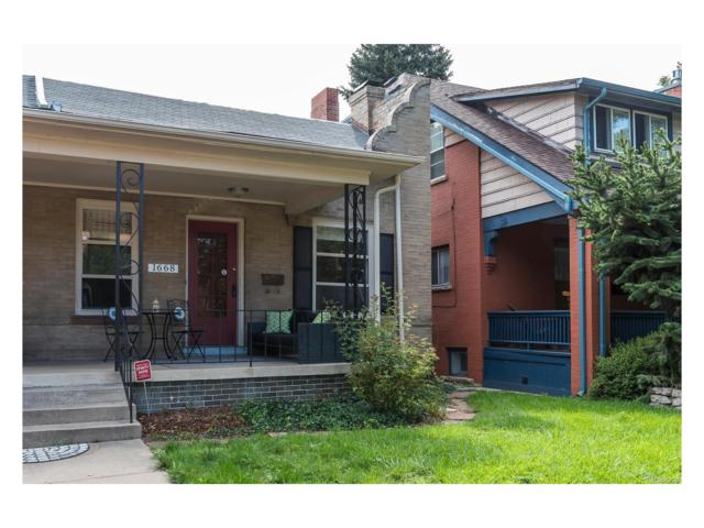 1668 Cook Street, Denver, CO 80206 (#1852504) :: Wisdom Real Estate