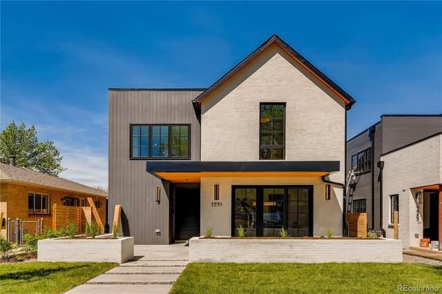 1551 S Clarkson Street, Denver, CO 80210 (#1858156) :: Briggs American Properties