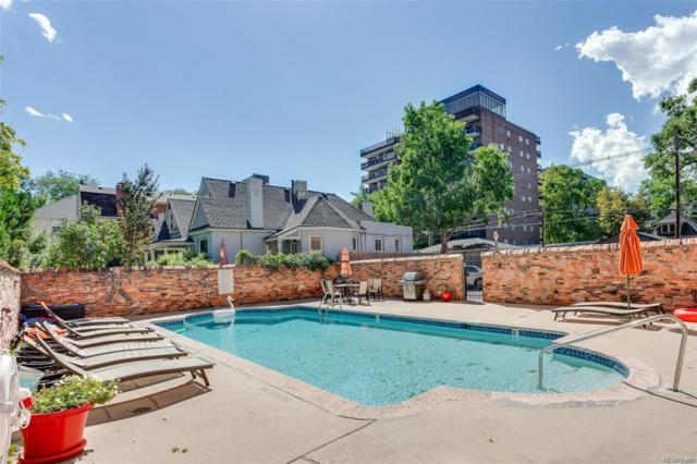 1243 Gaylord Street #205, Denver, CO 80206 (#1860589) :: Wisdom Real Estate
