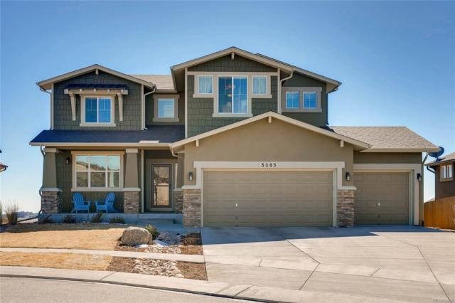5255 Eldorado Canyon Court, Colorado Springs, CO 80924 (#1860857) :: The Peak Properties Group
