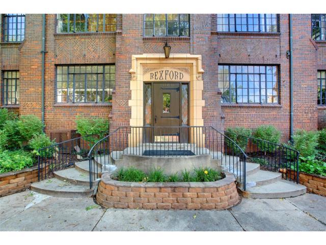 1060 Washington Street #102, Denver, CO 80203 (MLS #1861645) :: 8z Real Estate