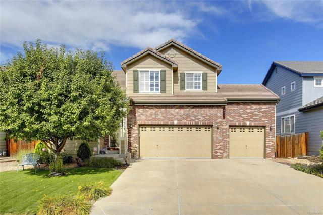 10307 Hadrian Court, Parker, CO 80134 (#1862704) :: The Gilbert Group