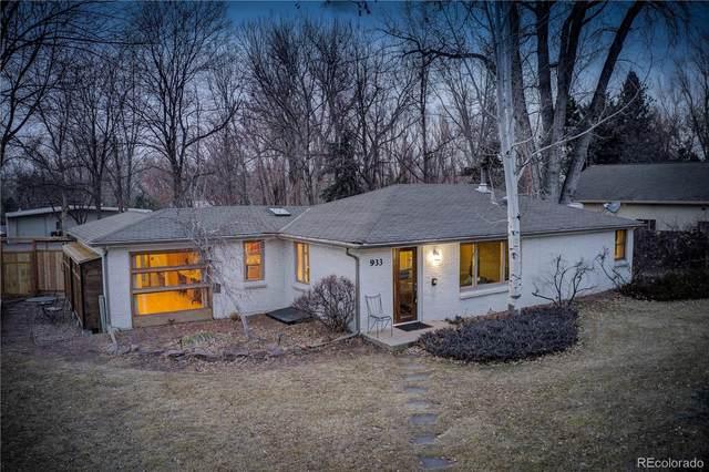 933 Cherryvale Road, Boulder, CO 80303 (MLS #1863515) :: 8z Real Estate