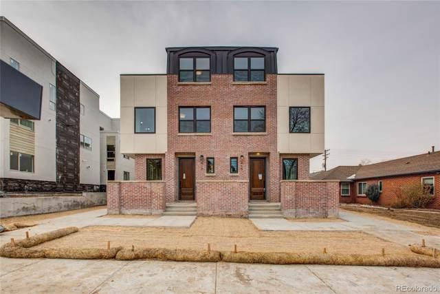 415 N Harrison Street, Denver, CO 80206 (#1864540) :: Wisdom Real Estate