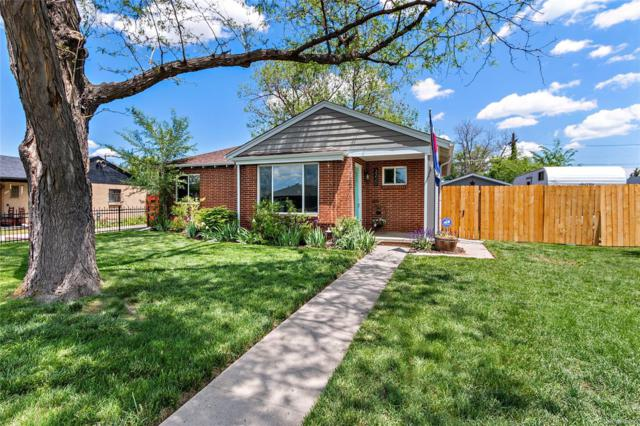 3220 Jasmine Street, Denver, CO 80207 (#1868628) :: The HomeSmiths Team - Keller Williams