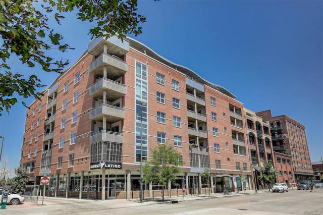 2229 Blake Street #501, Denver, CO 80205 (#1870934) :: Bring Home Denver