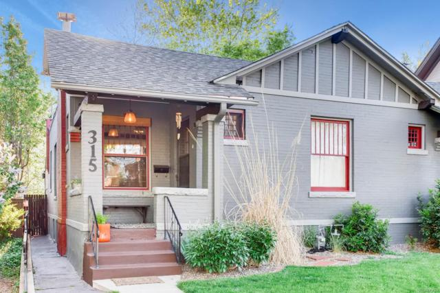 315 S Corona Street, Denver, CO 80209 (#1871908) :: The Pete Cook Home Group